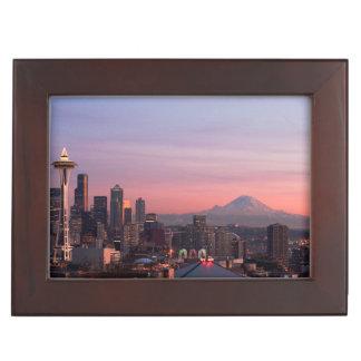 Seattle from Kerry Park. Keepsake Box