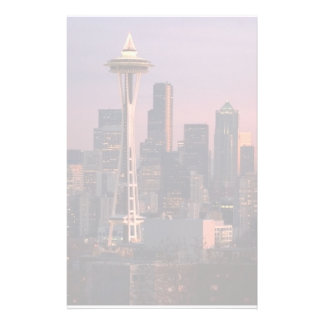 Seattle from Kerry Park. Personalized Stationery