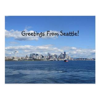 Seattle Greetings Postcard