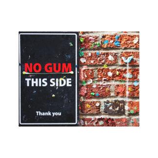Seattle Gum Wall Canvas Print