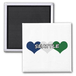 Seattle Heart Magnet