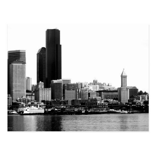 Seattle in B&W Post Cards