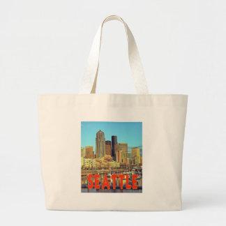 Seattle Jumbo Tote Bag
