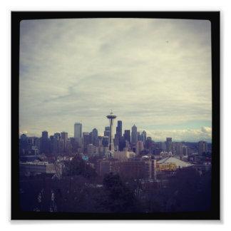 Seattle Landscape Photo Print