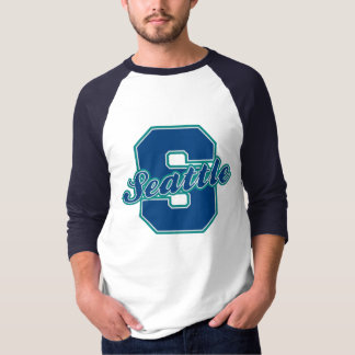 Seattle Letter T-Shirt
