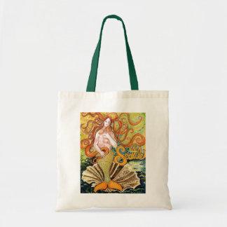 Seattle Mermaid Canvas Bag
