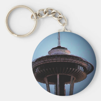 Seattle (Needle) Keychain