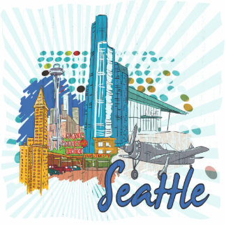 Seattle Photo Cut Outs