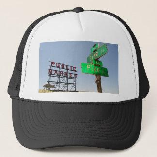 Seattle Pike Place Market Trucker Hat