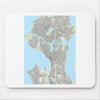 Seattle Playing Cards Mouse Pad
