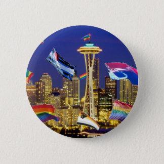 Seattle Pride 6 Cm Round Badge
