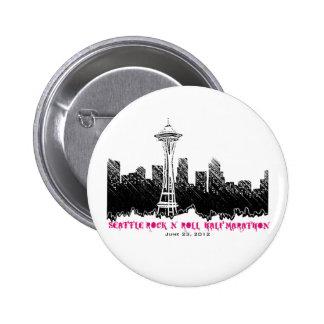 Seattle Rock n Roll Half Marathon 2012 Pins