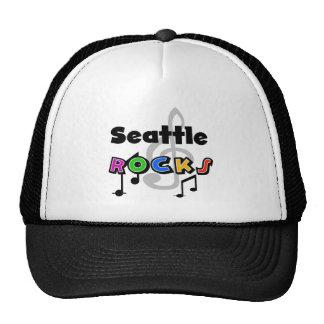 Seattle Rocks Mesh Hat