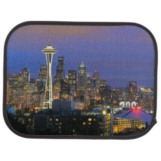 Seattle seen from Kerry Park in Queen Anne Car Mat