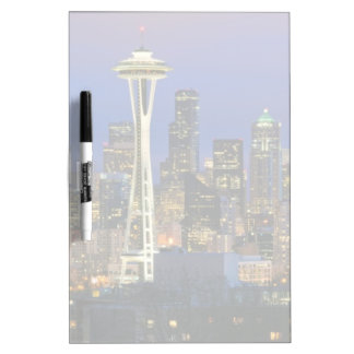 Seattle seen from Kerry Park in Queen Anne Dry Erase Board