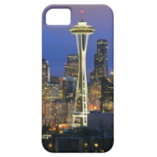 Seattle seen from Kerry Park in Queen Anne iPhone 5 Cover