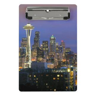 Seattle seen from Kerry Park in Queen Anne Mini Clipboard