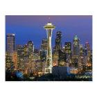 Seattle seen from Kerry Park in Queen Anne Postcard