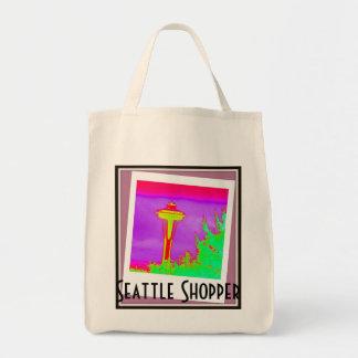 Seattle Shopper Reusable Shopping Bag
