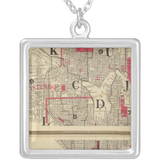 Seattle Silver Plated Necklace