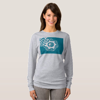 Seattle simplified flag womens t-shirt