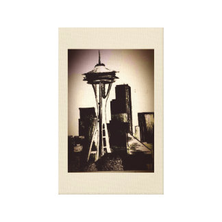 Seattle Sky Canvas Print