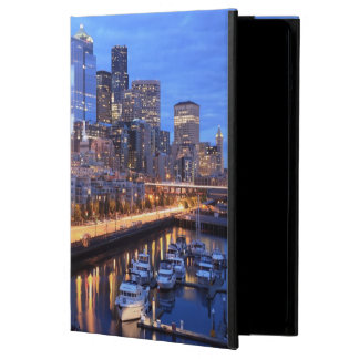 Seattle skyline and harbor, Washington State Case For iPad Air