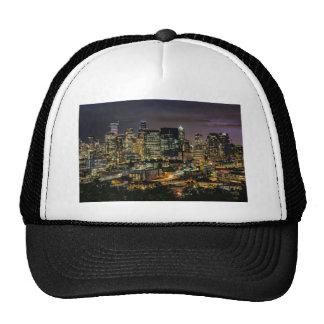 Seattle Skyline at Night Cap