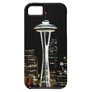 Seattle skyline at night, with Space Needle. iPhone 5 Covers