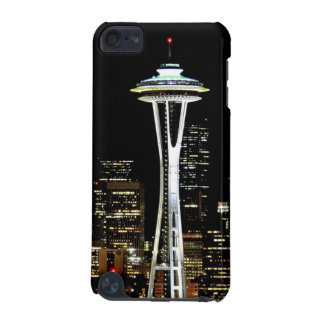 Seattle skyline at night, with Space Needle. iPod Touch (5th Generation) Cases
