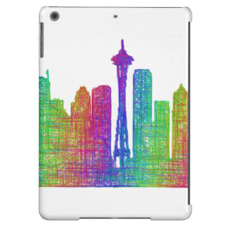 Seattle skyline case for iPad air