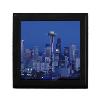 Seattle skyline gift box