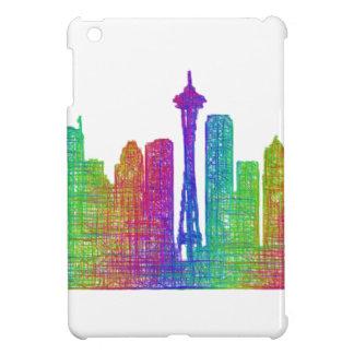 Seattle skyline iPad mini case