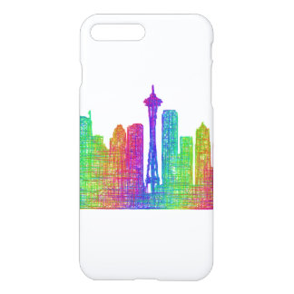 Seattle skyline iPhone 7 plus case