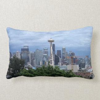 Seattle Skyline Lumbar Cushion