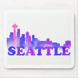 Seattle Skyline Mouse Pad