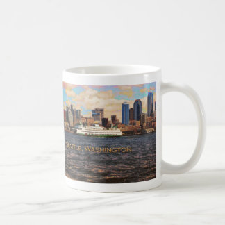 Seattle Skyline Mug
