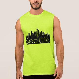 SEATTLE SKYLINE WASHINGTON STATE SLEEVELESS SHIRT