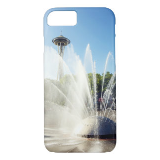 Seattle Space Needle and Fountain iPhone 7 Case