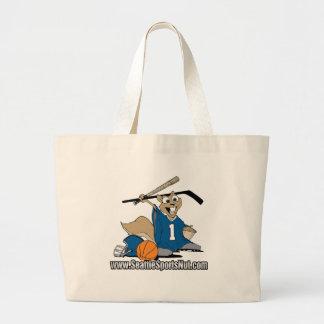 Seattle Sports Nut Canvas Bag