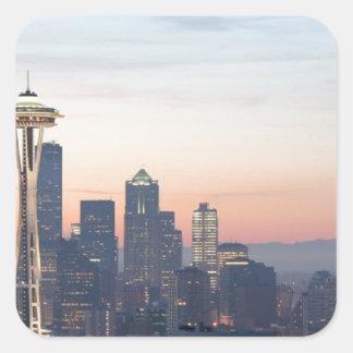Seattle Square Sticker