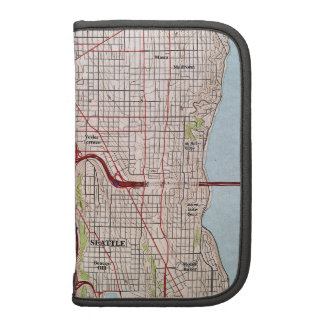 Seattle Topographic City Map Folio Planners