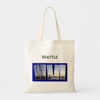 SEATTLE TOTE BUDGET TOTE BAG