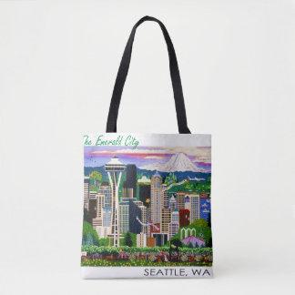 Seattle Tote Fun! Tote Bag
