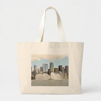Seattle, WA Jumbo Tote Bag