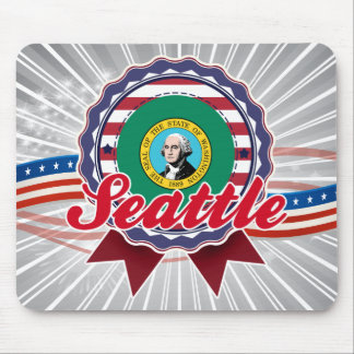 Seattle, WA Mousepad