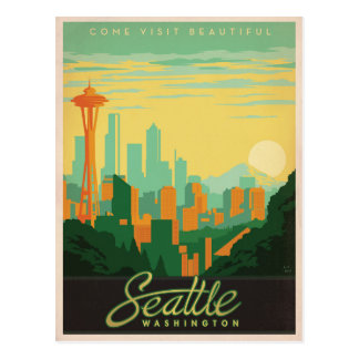 Seattle, WA Postcard