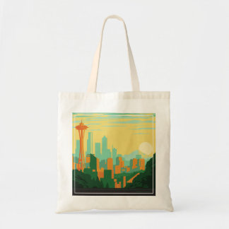 Seattle, WA Tote Bag