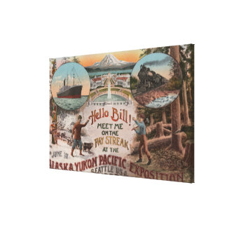 Seattle, WAAD for Alaska Yukon Pacific Expo. Canvas Print