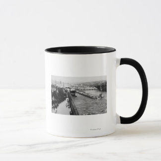 Seattle, WABallard Locks Ship Canal Photograph Mug